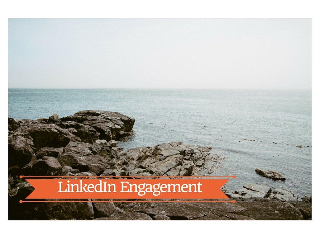 1-LinkedIn Engagement