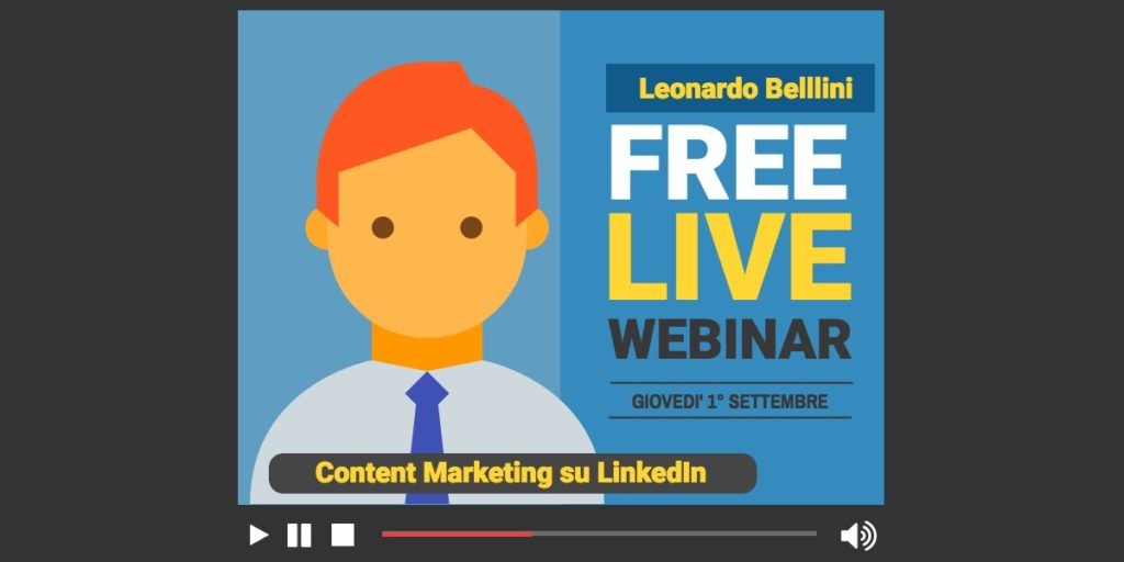 Content Marketing su LinkedIn: la mia presentazione