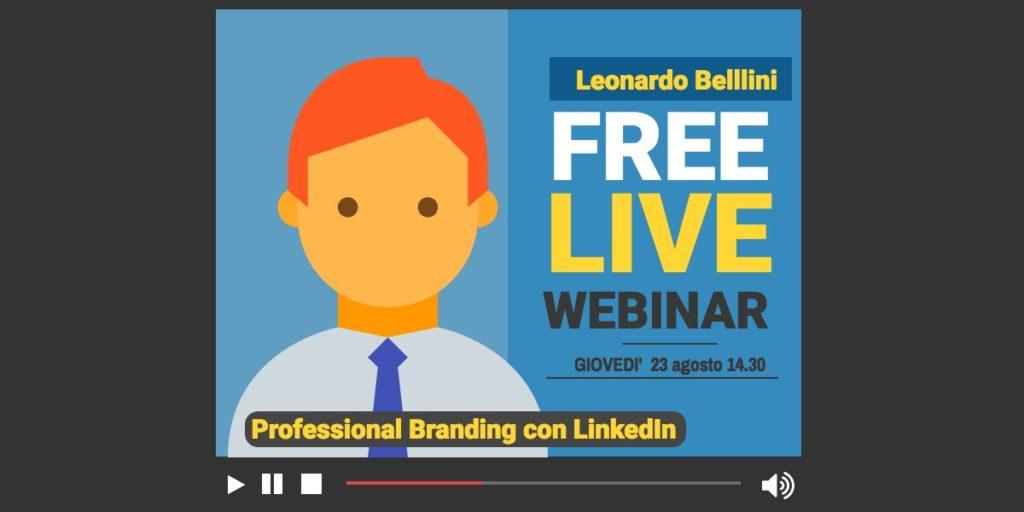 Professional branding su LinkedIn: la mia presentazione