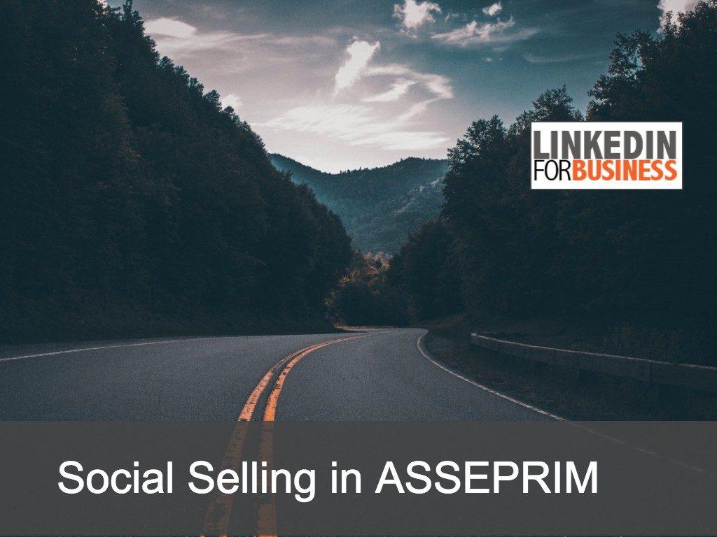 Social Selling Workshop in ASSEPRIM