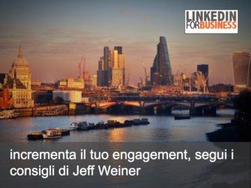 Stai generando engagement con i tuoi update su LinkedIn?