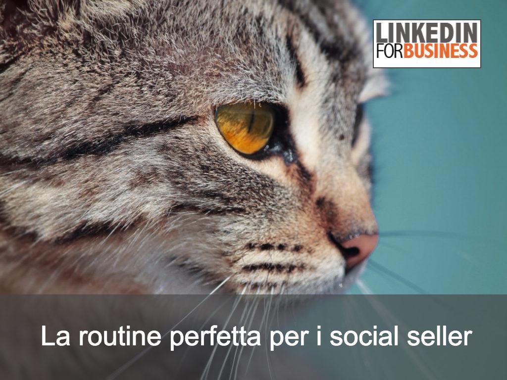 Social Selling, 5 azioni per la tua social selling routine
