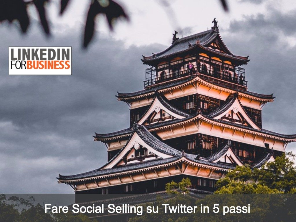 Fare Social Selling con Twitter in 5 passi