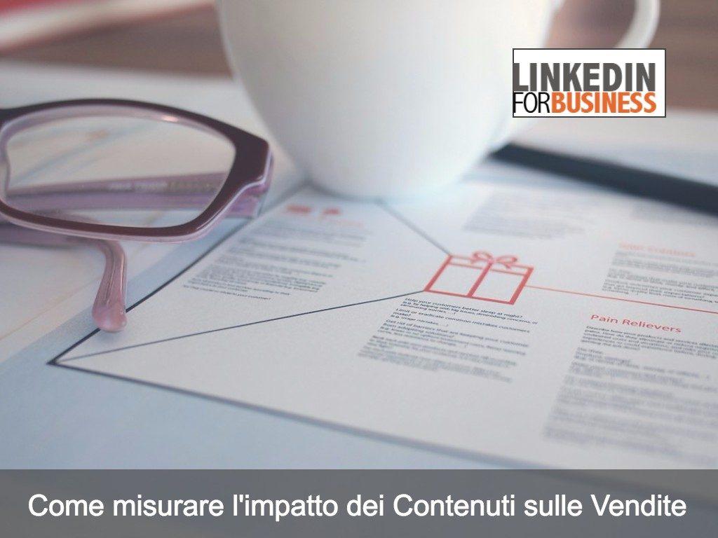 Come misurare l'impatto dei contenuti sulle vendite