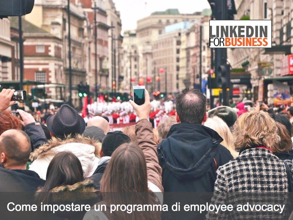 Avviare un programma di employee advocacy