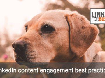 Content engagement su LinkedIn