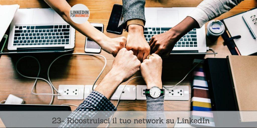 [Podcast #23] Ri-costruisci il tuo network su LinkedIn