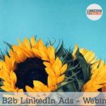 [Podcast #36] B2b LinkedIn Ads- Webinar