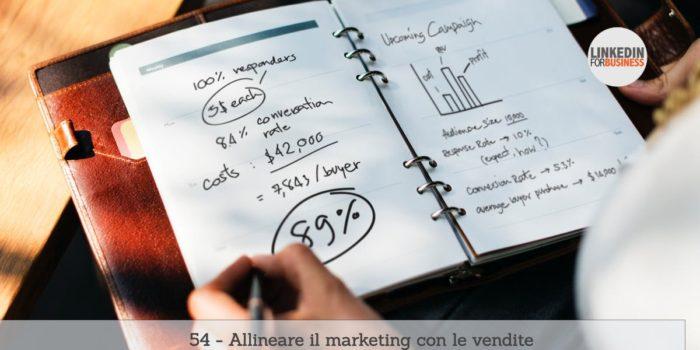 54-allineare marketing e vendite post