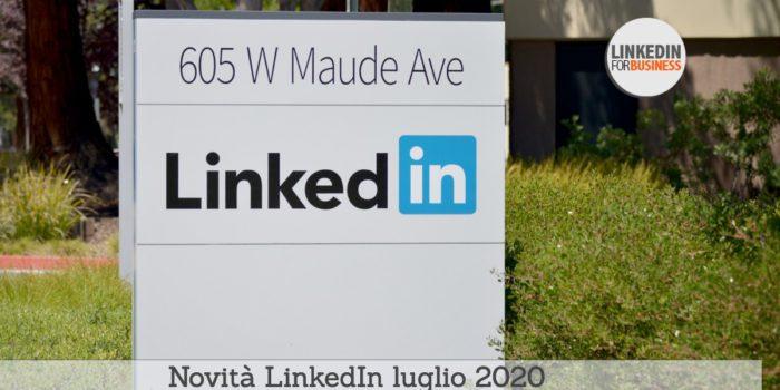 Novità LinkedIn 2020