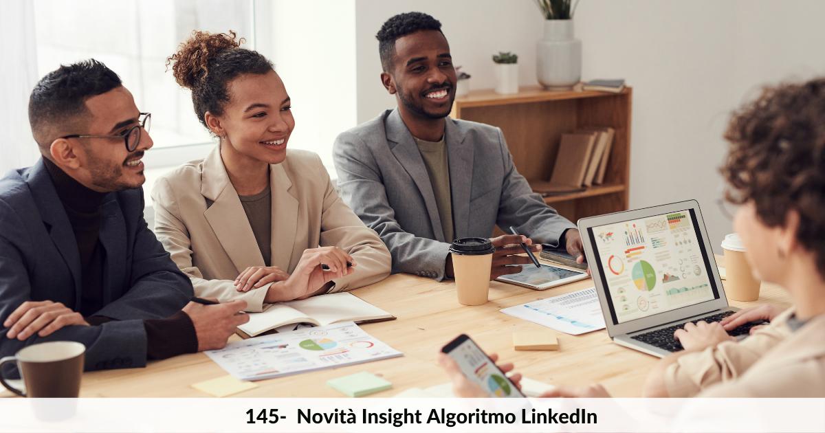 Novità Insight algoritmo di LinkedIn